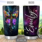 Butterfly Fe Personalized PYR2101005Z Stainless Steel Tumbler