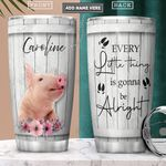 Pig Personalized PYR2101013Z Stainless Steel Tumbler