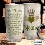 Irish Blessing KD4 Personalized THA2101011Z Stainless Steel Tumbler
