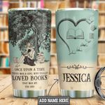 Personalized Book Once Upon A Time HLM2101006Z Stainless Steel Tumbler