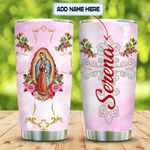Pink Our Lady Personalized KD2 MAL2101009Z Stainless Steel Tumbler