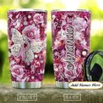 Jewelry Style Breast Cancer Personalized KD2 HAL2101004Z Stainless Steel Tumbler
