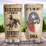 Texas Cowboy Personalized KD2 HRX2101003Z Stainless Steel Tumbler