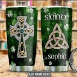 Irish Jewelry Style Personalized NNR2101010Z Stainless Steel Tumbler