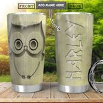 Owl Book Folding KD4 Personalized HHA2201006Z Stainless Steel Tumbler