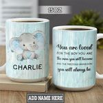 Personalized Elephant Grandson HLM2201003Z Full Color Ceramic Mug