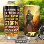 Firefighter KD4 Personalized HHA2301002Z Stainless Steel Tumbler
