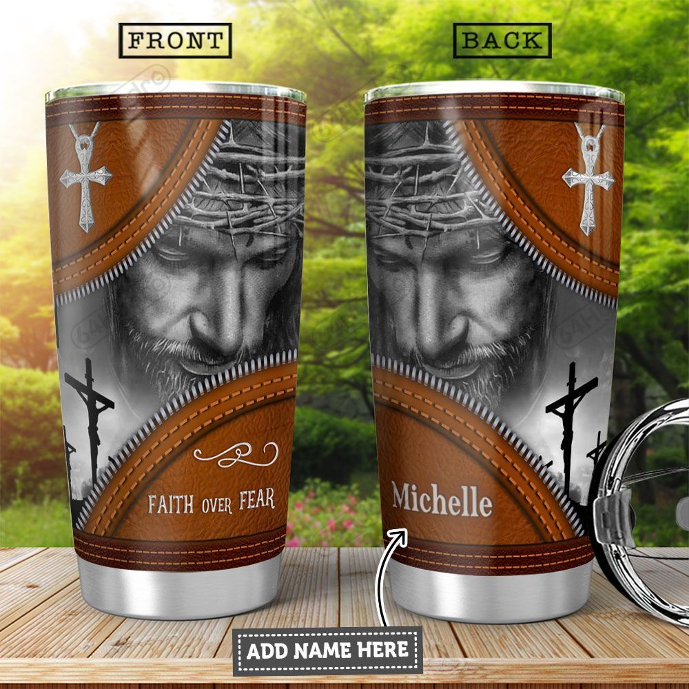 Jesus Personalized HHA2301004Z Stainless Steel Tumbler