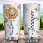 Sunflower Jewelry Style Personalized KD2 HRX2301002Z Stainless Steel Tumbler