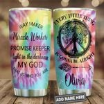 Hippie Faith Tree Of Life Personalized KD2 HNL2301006Z Stainless Steel Tumbler