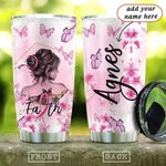 BRC Butterfly Faith Personalized KD2 HAL2301002Z Stainless Steel Tumbler