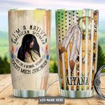 Personalized Native American Girl DNM2501012Z Stainless Steel Tumbler