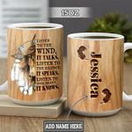 Personalized Native American Horse TTZ2601021Z Full Color Ceramic Mug