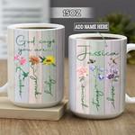 Personalized Hummingbird God Says You Are BGZ2601016Z Full Color Ceramic Mug