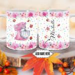 Personalized Baking Stuffs DNM2601001Z Full Color Ceramic Mug