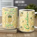 Pineapple Jewelry Style Personalized NNR2601011Z Full Color Ceramic Mug