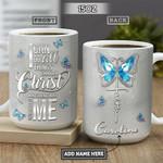 Faith Butterfly Personalized NNR2601001Z Full Color Ceramic Mug