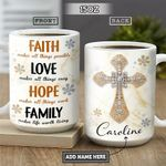 Faith Jewelry Style Personalized NNR2601004Z Full Color Ceramic Mug