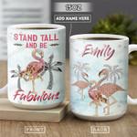 Flamingo Jewelry Style Personalized PYR2601007Z Full Color Ceramic Mug