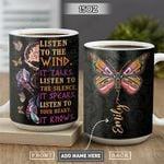 Native Butterfly Personalized PYR2601010Z Full Color Ceramic Mug