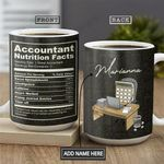 Accountant Facts KD4 Personalized THA2601010Z Full Color Ceramic Mug