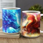 Wolf And Dragon KD2 MAL2601028Z Full Color Ceramic Mug