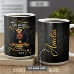 Black Woman Personalized KD2 HRL2601005Z Full Color Ceramic Mug