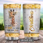 Giraffe Faith Metal Jewelry Style Personalized KD2 HRX2501005Z Stainless Steel Tumbler