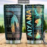 Personalized Native America Pattern DNM2701005Z Stainless Steel Tumbler