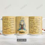 Personalized Hippie I Am DNM2701010Z Full Color Ceramic Mug