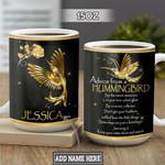 Personalized Hummingbird Advice TTZ2701007Z Full Color Ceramic Mug