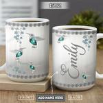 Hummingbird Jewelry Style Personalized PYR2701001Z Full Color Ceramic Mug