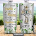 Faith Jewelry Style Personalized NNR2701003Z Stainless Steel Tumbler
