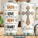 Faith Jewelry Style Personalized NNR2701004Z Stainless Steel Tumbler