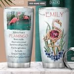 Flamingo Jewelry Style Personalized PYR2701007Z Stainless Steel Tumbler
