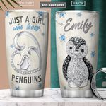 Penguin Lover Jewelry Style Personalized PYR2701011Z Stainless Steel Tumbler