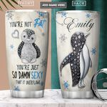 Penguin Jewelry Style Personalized PYR2701010Z Stainless Steel Tumbler