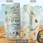 Turtle Jewelry Style Personalized PYR2701013Z Stainless Steel Tumbler
