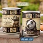 Sloth Quilt Pattern Personalized KD2 HAL2701014Z Full Color Ceramic Mug