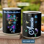 Butterfly Hippie Dream Catcher Personalized KD2 HAL2701004Z Full Color Ceramic Mug