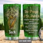 Personalized Irish Saint Patrick Prayer TTZ2801005Z Stainless Steel Tumbler