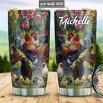 Personalized Chicken Picture DNM2801003Z Stainless Steel Tumbler