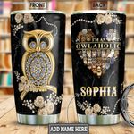 Owlaholic Jewelry Style Personalized NNR3001012Z Stainless Steel Tumbler