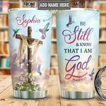 Hummingbird Faith Personalized NNR3001007Z Stainless Steel Tumbler