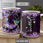 Personalized Hummingbird Faith Hope Love TTZ3001004Z Full Color Ceramic Mug