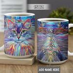 Personalized Cat TTZ3001001Z Full Color Ceramic Mug