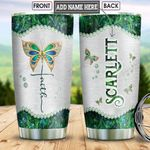 Butterfly Faith Abstract Style Personalized NNR0102002Z Stainless Steel Tumbler