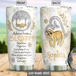 Sloth Jewelry Style Personalized NNR0102009Z Stainless Steel Tumbler