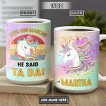 Unicorn Personalized NNR1812003 Full Color Ceramic Mug