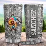 Jewelry Turtle Silver Style Personalized KD2 HRL0102016Z Stainless Steel Tumbler